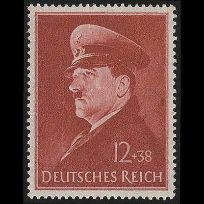 772x Hitlers Geburtstag 1941 - Marke **