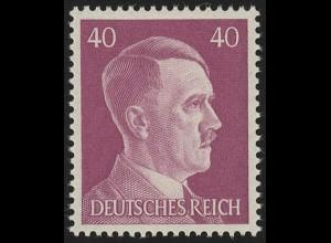 795 Hitler 40 Pf **