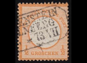 18 Brustschild 1/2 Groschen, O