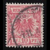 47ca Krone/Adler 10 Pf, O geprüft