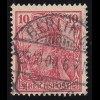 56a Germania 10 Pf. REICHSPOST, O
