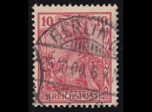 56a Germania 10 Pf. REICHSPOST, O