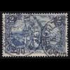 64II Kaiserreich 2 M, REICHSPOST,Type II, O