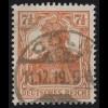 99b Germania 7 1/2 Pf O