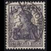 101a Germania 15 Pf violett O
