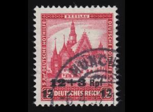 464 Deutsche Nothilfe Bauwerke 12+3 Rpf auf 15+5 Pf O