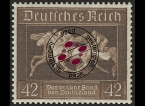 621X Das Braune Band 1936 aus Block 4, O