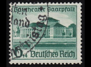 673 Saarpfalz 6+4 Pf O