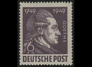 SBZ 234 Goethe 6 Pf, **