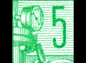 HBl. 7A-VIb aus MH 3 Fünfjahrplan, PLF Aussparung unter Monometeruhr, Feld 6, **