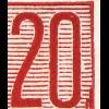 MH 3b1.12 Fünfjahrplan 1961, 5 PLF Fahrrad+Fußweg Linien Zirkel Dach, 3. HBl. **