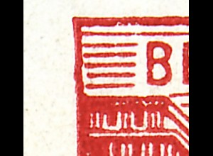 MH 3b2.44 Fünfjahrplan, sechs Plattenfehler auf den 3 Heftchenblättern, **