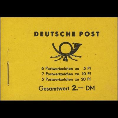 MH 1a1 Fünfjahrplan 1955, postfrisch