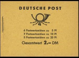 MH 3b1 Fünfjahrplan 1960 Klammer 17 mm, postfrisch
