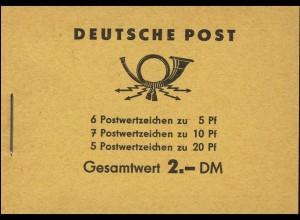 MH 3b1.61 Fünfjahrplan 1961 mit 4 PLF Fleck & Loch & Punkte Werkstück **
