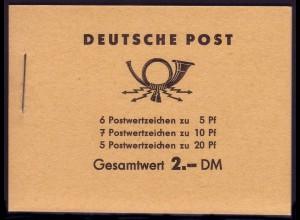MH 3b1.70 Fünfjahrplan 1961, 2 PLF Farbpunkt unter Strebe und verbundene 2,**