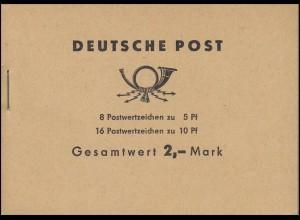 MH 4c3a Ulbricht 1968 - mit PLF gerader Abschluß der 5, **