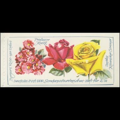 MH 6 I 2a Rosenausstellung - Zähnungsvariante: C-C-C, postfrisch
