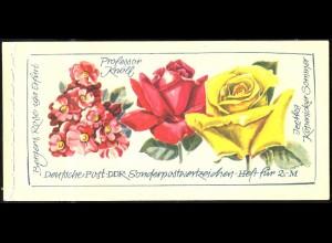 MH 6 I 2b Rosenausstellung mit der Zähnungsvariante C-C-C, postfrisch
