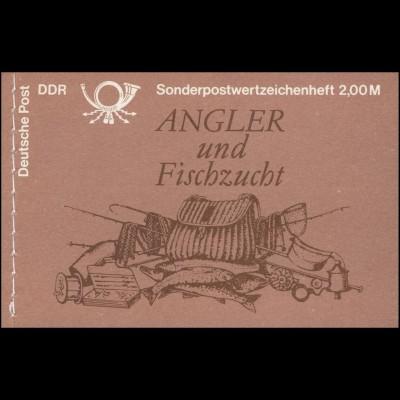 MH 9v1.1I Süßwasserfische 1988 - postfrisch