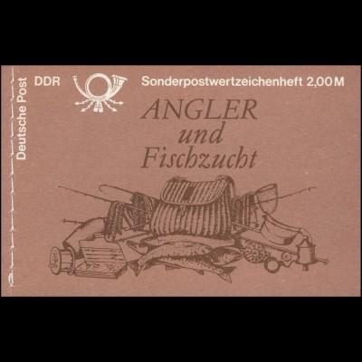 MH 9v1.2II Süßwasserfische 1988 - postfrisch