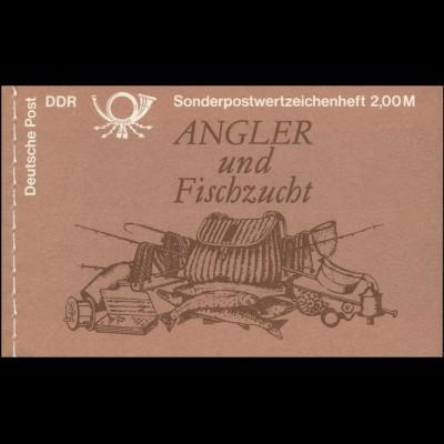 MH 9v1.1I Süßwasserfische 1988 - ESSt Berlin 29.11.88