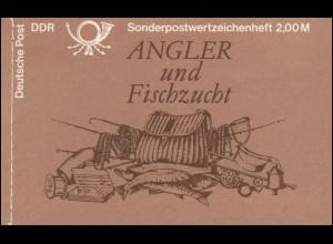 MH 9w1 Süßwasserfische 1988 - ESSt Berlin 29.11.88