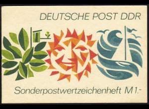 SMHD 3aa Freizeit 1 Mark 1972, 105x70 mm - postfrisch