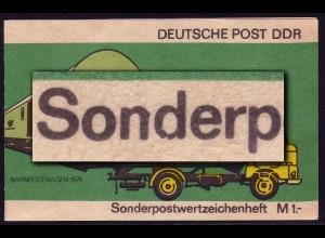 SMHD 9cb Posttransport, 1.DS d beschädigt, **