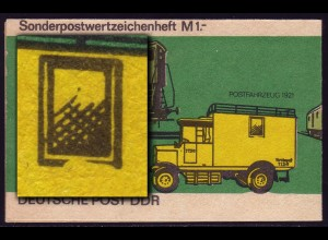SMHD 9cb Posttransport, 4.DS: Fensterrahmen defekt **