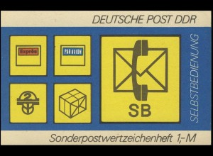 SMHD 11 aa SB-Postsymbole - postfrisch