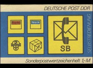 SMHD 11 ac SB-Postsymbole - postfrisch
