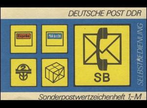 SMHD 11 ad SB-Postsymbole - postfrisch