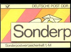 SMHD 18 Brieftaube 1985 mit DDF auf 4.DS Kerbe im S von Sonder-, **