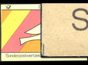 SMHD 18 Brieftaube 1985 mit DDF 4.DS Schnittmarkierung links unten, **