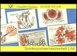SMHD 19 Telegramme 1985 - postfrisch **