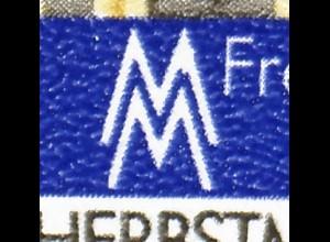 SMHD 17 ayII Kommunikation 1984 mit MICHEL-PLF 2891I, Feld 37, **