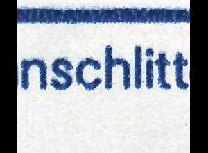 SMHD 16b Postwertzeichen & Stempel mit PLF 2923, Feld 4, **