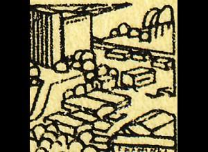 SMHD 18 Brieftaube 1985 mit PLF 3152, Feld 30, **