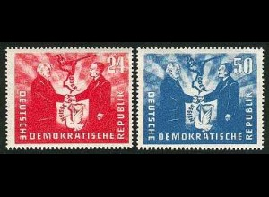 284-285 Deutsch-Polnische Freundschaft, postfrischer Satz **