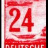 360I Frankfurt/Oder 24 Pf mit PLF 4 in der 24 innen zur Hälfte ausgefüllt **
