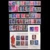 447-509 DDR-Jahrgang 1955 komplett, postfrisch ** / MNH