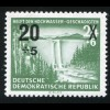 449II Hochwasser-Aufdruck mit PLF II Pluszeichen Kleeblattform, Feld 23, **