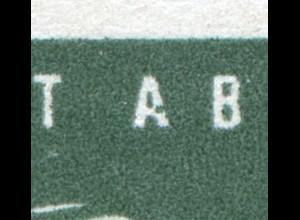 545II Carl Zeiss 10 Pf. mit MICHEL-PLF I: Kerbe rechts im A von ABBE, Feld 31 **