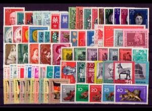 673-745 DDR-Jahrgang 1959 komplett, postfrisch ** / MNH