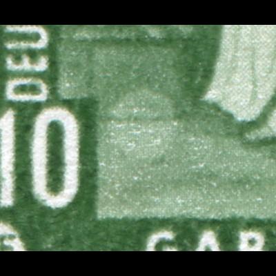 694I Gemälde 10 Pf: heller Kreis an Unterkante des Schemels, Feld 31 **