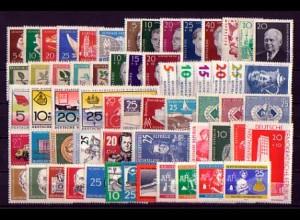 746-806 DDR-Jahrgang 1960 komplett mit Block 16, postfrisch ** / MNH
