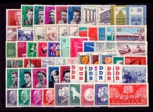 807-868 DDR-Jahrgang 1961 komplett, postfrisch ** / MNH