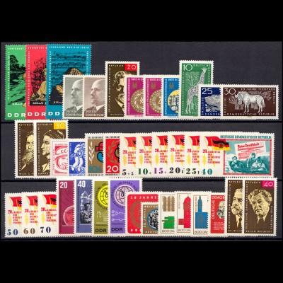 1084-1153 DDR-Jahrgang 1965 komplett, postfrisch ** / MNH