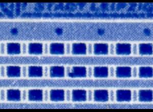 Block 23 INTERMESS III 10+70 Pf. mit PLF 1129 blauer Fleck am Fenster, **